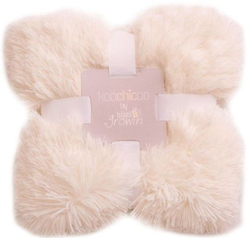 Cream Luxury Pom Pom Blanket